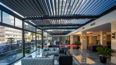 About rolling roof (Bioclimatic)